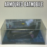 Batman Automobilia collection Eaglemoss Batman Armoured Batmobile 1989 @sold@
